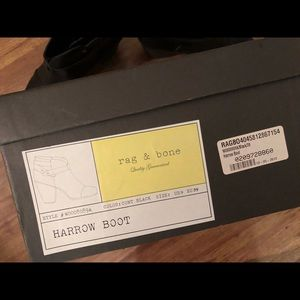 Rag and Bone, Harrow Bootie, Size 39